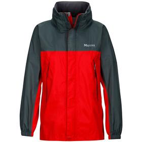 Marmot PreCip Jacket Barn team red/dark zinc
